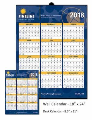 Free Calendar - Fineline Printing