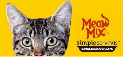 free sample of Meow Mix Simple Servings