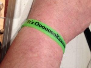 Free It's OooooooKaaaaaaay!!! Wristband