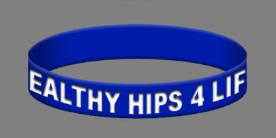 Healthy Hips 4 Life - Free Wristband