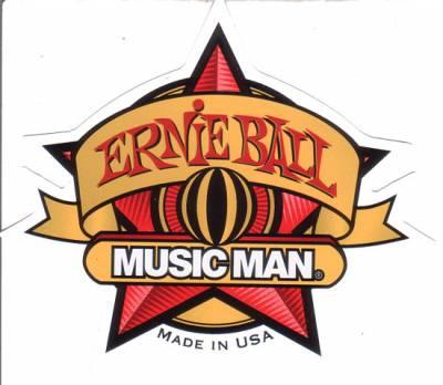 Ernie Ball Music Man - Free Sticker