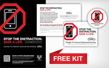 Free Prevent Distracted Driving Campaign Kit Wisconsin Educators