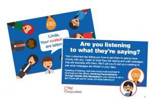 Free Oversized Postcard, Letterpack, Booklet For Companies