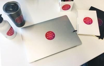 Free Saucony Sticker