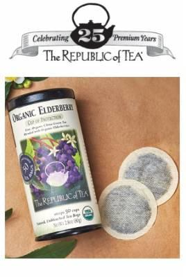 FREE 'The Republic of Tea' Tea Bag Sample