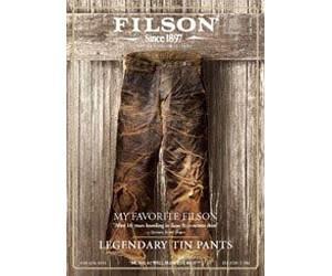 Free Filson Catalog