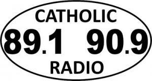 Free Catholic Radio Sticker