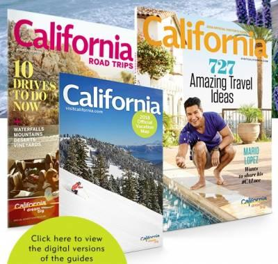 Free California Visitors Guide and State Map