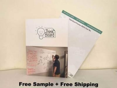 Free Think Board Company Folder Sample
