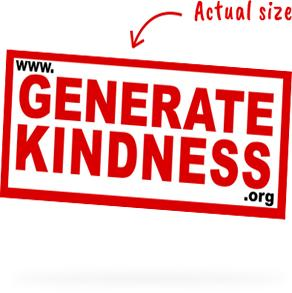Get a FREE Generate Kindness Sticker
