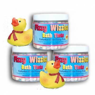 Free Fizzy Wizzies Bath Tint Samples