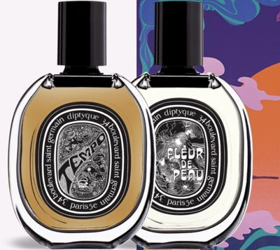FREE Diptyque Fleur De Peau and Tempo Fragrance Samples
