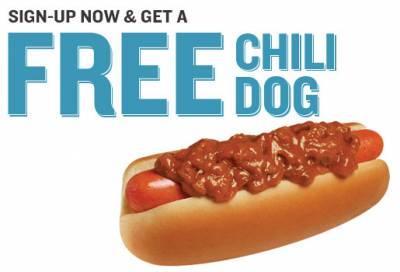 Free Chili Dog @ Weinerschnitzel