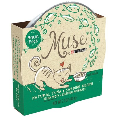 Free Sample of Purina Muse Grain-Free Filets Cat Food
