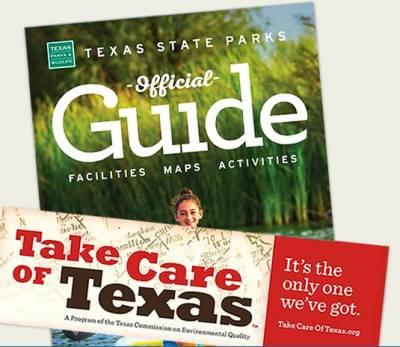 Free Sticker - Texas State Parks: Official Guide (Texas Residents Only)