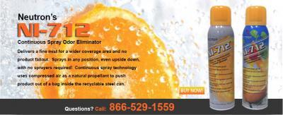 Free Sample of NI-712 Odor Eliminator