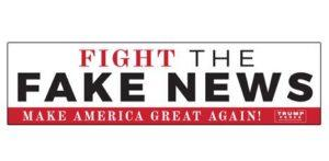 Free Fight The Fake News Sticker