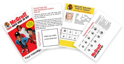 Free McGruff Safe Kit - Keep Your Children Safe