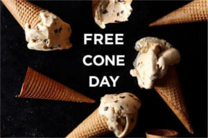 FREE Cone at Häagen-Dazs Shops (May 08, 2018)