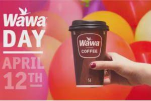 FREE Coffee at Wawa On April 12th