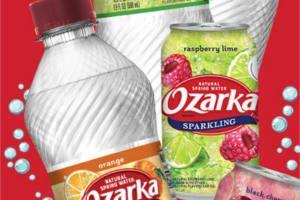 FREE 8-Pack of Sparkling Ozarka Brand Natural Spring Water