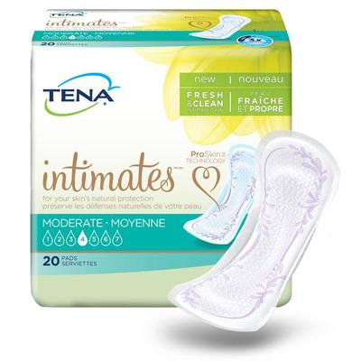 Free TENA Intimates Pads with ProSkin Technology