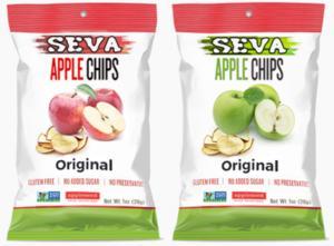 Free Samples of SEVA Apple Chips