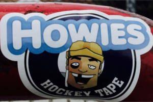 FREE Howie's Hockey Tape Sticker
