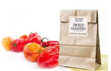 Free Sample of Smoked Habanero dried chilli