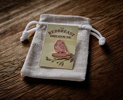 Free Redbreast Pin Badge