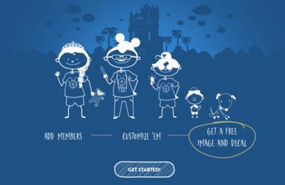 Disney - Free Sticker