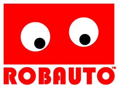 Free ROBAUTO robot laptop stickers