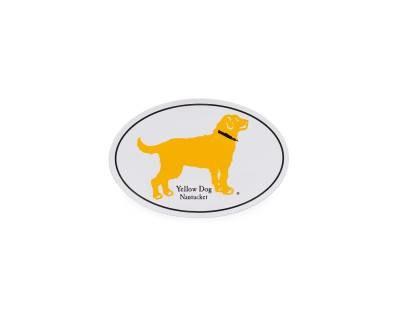 Free Yellow Dog Nantucket Stickers