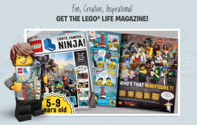 Get The Lego Life Magazine Free!