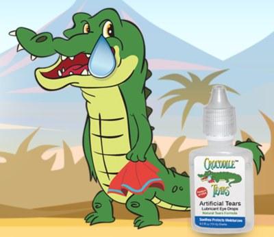 Free Crocodile Tears Eye Drops