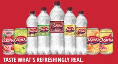 FREE 8-PACK of Sparkling Ozarka® Brand Natural Spring Water