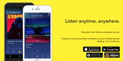 Tryspree - Free Three-Month Subscription - Pandora Premium