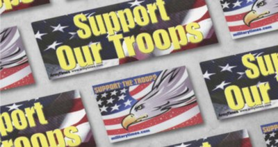Free Sticker - Support the Troops