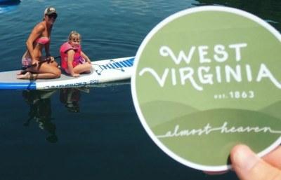 FREE West Virginia Tourism #AlmostHeaven Sticker