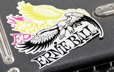Free Stickers - Ernie Ball