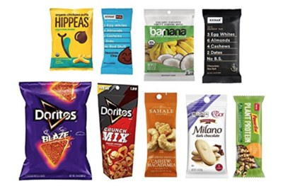 Snack Sample Box from Amazon
