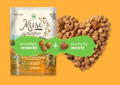 FREE sample of Muse® MasterPieces® Purina Cat Food