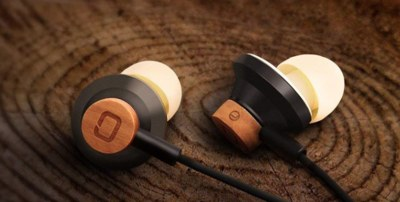 Free Pair Wooden Ear Buds