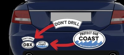 Free Don't Drill Sticker