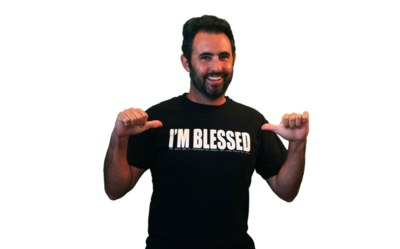 Free T-Shirt from I'm Blessed