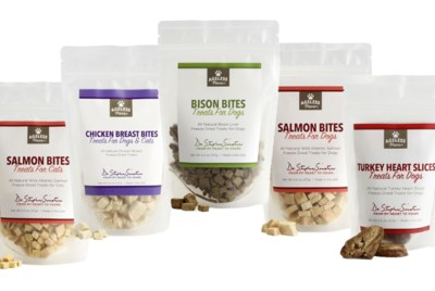 Free Sample of Ageless Paws Freeze Dried Treats