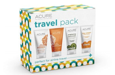 Free Travel Set from Acure Skin Care