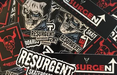 Free Stickers from resurgent skateboards