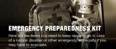 Free Emergency Preparedness Magnet
