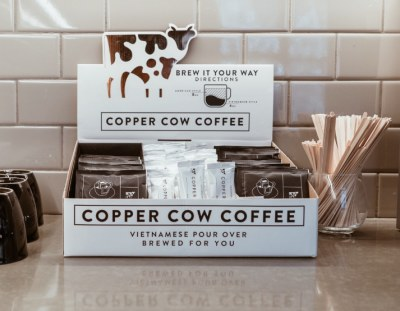 Free Sample of Copper Cow Coffee